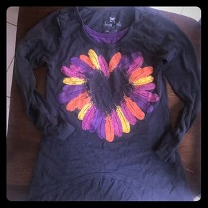 Other - Cute Flower Tee Long sleeve